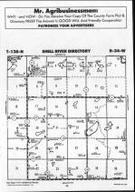 Shell River T138N-R34W, Wadena County 1990 Published By Farm and Home Publishers, LTD