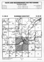 Blueberry T138N-R35W, Wadena County 1990 Published By Farm and Home Publishers, LTD