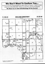 Bullard T135N-R33W, Wadena County 1990 Published By Farm and Home Publishers, LTD