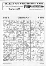 Leaf River T135N-R35W, Wadena County 1990 Published By Farm and Home Publishers, LTD
