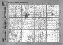 Index Map, Waseca County 1991