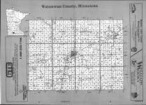 Index Map, Watonwan County 1991