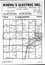 Map Image 001, Watonwan County 1991