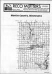 Martin County Index Map 1, Watonwan and Martin Counties 1986