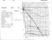 Wilkin County Highway Map 1, Wilkin County 1963