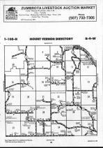Mount Vernon T108N-R9W, Winona County 1990 Published By Farm and Home Publishers, LTD