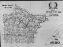 Index Map, Wright County 1989