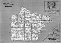 Index Map, Wright County 1990