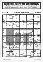 Florida T115N-R46W, Yellow Medicine County 1984 Published by Farm and Home Publishers, LTD