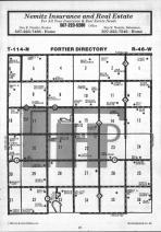 Fortier T114N-R46W, Yellow Medicine County 1984 Published by Farm and Home Publishers, LTD