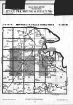 Minnesota Falls T115N-R39W, Yellow Medicine County 1984 Published by Farm and Home Publishers, LTD