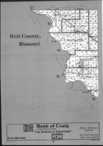 Holt County Index Map 001, Atchison and Holt Counties 1990