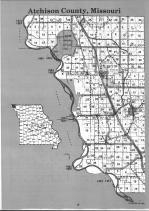 Atchison County Index Map 001, Atchison and Holt Counties 1991