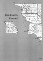 Holt County Index Map 001, Atchison and Holt Counties 1991