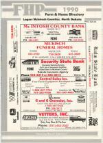 Title Page, Logan and McIntosh Counties 1990