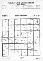 Sargent County Map Image 001, Ransom and Sargent Counties 1991