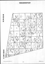 Sargent County Map Image 012, Ransom and Sargent Counties 1991