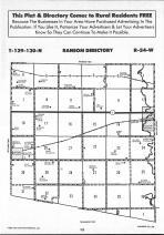 Sargent County Map Image 023, Ransom and Sargent Counties 1991