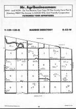 Sargent County Map Image 027, Ransom and Sargent Counties 1991