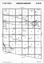 Sargent County Map Image 029, Ransom and Sargent Counties 1991