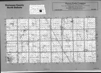 Index Map, Stutsman County 1991