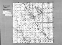 Index Map, Sherman County 1991