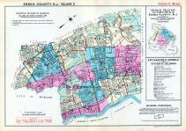 Index Map, Essex County 1932 - Bloomfield, Belleville and Nutley