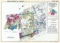 Zone Map, Essex County 1932 - Bloomfield, Belleville and Nutley