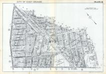 Plate 013, Essex County 1932 - East Orange - West Orange