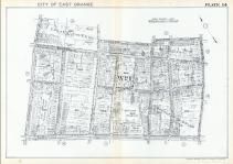 Plate 014, Essex County 1932 - East Orange - West Orange