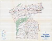 Adams and Cumberland Counties Map, Adams and Cumberland Counties 1958 - Waters - Highway