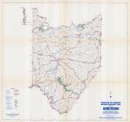 Armstrong County Map, Armstrong County 1958 - Waters - Highway