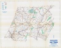 Blair and Cambria Counties Map, Blair and Cambria Counties 1958 - Waters - Highway