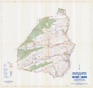 Snyder and Union Counties Map, Snyder and Union Counties 1958 - Waters - Highway