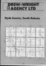 Hyde County Index Map 001, Hand and Hyde Counties 1990