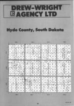 Hyde County Index Map 001, Hand and Hyde Counties 1991