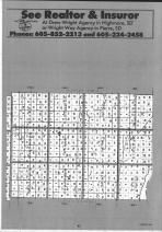 Hyde County Index Map 002, Hand and Hyde Counties 1991