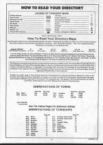 Hughes County Index and Legend, Hughes and Stanley Counties 1990
