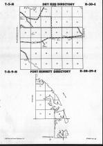 Stanley County Map Image 018, Hughes and Stanley Counties 1990