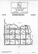 Fairview T97N-R48W, Lincoln County 1991