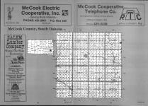 Index Map, McCook County 1990