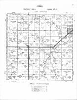 Egan Township, Lone Tree, Sioux River, Moody County 1956