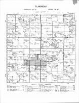 Flandreau Township, Spring Creek, Sioux River, Moody County 1956