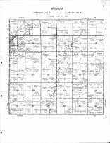 Grovena Township, Egan, Brookfield Creek, Sioux River, Moody County 1956