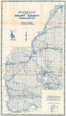 Grant County Map, Grant County 1956