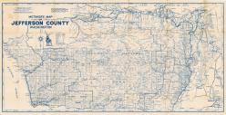 Jefferson County Map, Jefferson County 1950