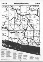 Map Image 009, Grant County 1990