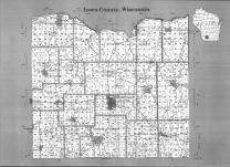 Index Map, Iowa County 1990 Published by Farm and Home Publishers, LTD