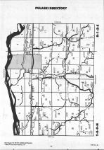 Map Image 010, Iowa County 1990 Published by Farm and Home Publishers, LTD