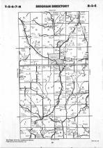Map Image 015, Iowa County 1990 Published by Farm and Home Publishers, LTD